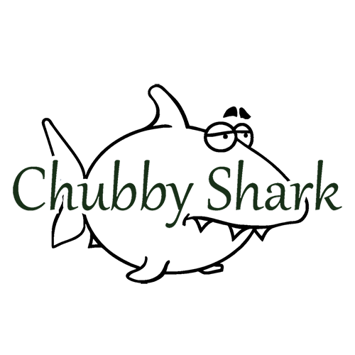 Логотип мастерской Chubby Shark