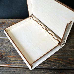 Подарочная коробка с гравировкой